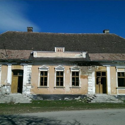 old oak wood Transylvania