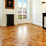 mounted parquet